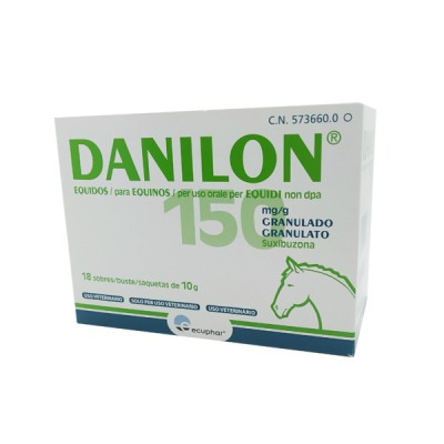 DANILON EQUIDOS, 18 SOBRES X 10GR
